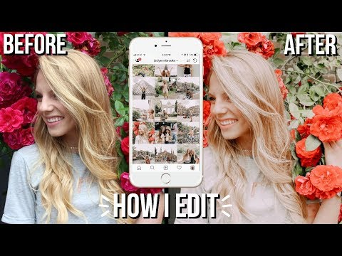 How I Edit My Instagram Pictures On My Phone | easy way to edit for beginners