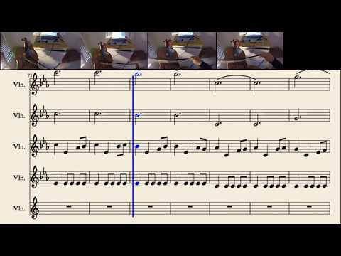 Game Of Thrones Arranged For Violins (w/ Sheet Music)