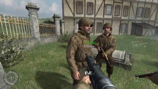 "Call of Duty 2 Gameplay Walkthrough - 27 ""Crossing the Rhine"" [1080p / 60 FPS]"
