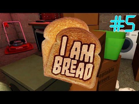 видео: i am bread | ХЛЕБУШЕК В ГАРАЖЕ | #5