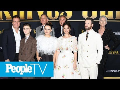 The 'Knives Out' Cast Agree That Jamie Lee Curtis 'Basically Took Over' The House | PeopleTV
