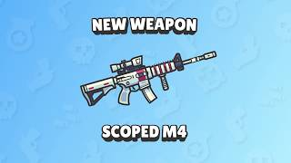 Zombs Royale - New Weapon Trailer! -  (Scoped M4)