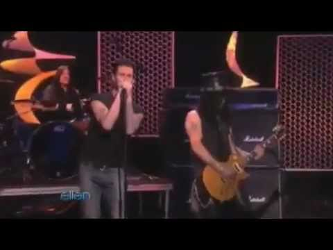 Gotten - Slash (Adam Levine) Maroon 5 Live