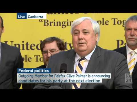 """A grub of the highest order"": Clive Palmer & Ewen Jones clash over Qld Nickel"