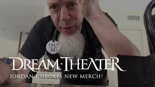 Jordan Rudess unboxes new Dream Theater merch!