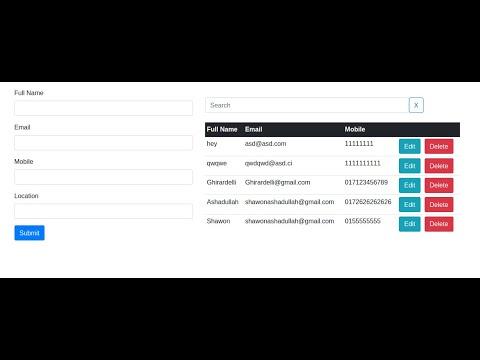 How to Dockerize Angular CRUD Firebase Web App