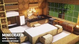 Minecraft Tutorial : how to make a kitchen design #93