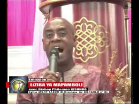 BISHOP KISONGO PARLE DE SON MINISTERE A KINSHASA 1