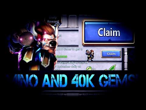Castle Clash: Buying Mino For Goddess Dionysus!  40k Gem Rolls!