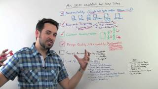 An SEO Checklist for New Sites - Whiteboard Friday - Search Engine Optimization