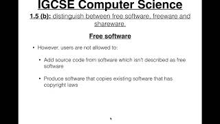 Free Software, Freeware and Shareware
