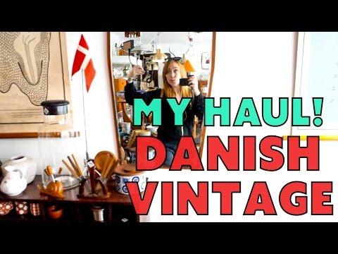 My Vintage Haul from Denmark! // Sarah Neylan