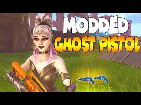 Dumb Scammer Loses Modded Ghost Pistol! (Scammer Gets Scammed) Fortnite Save The World
