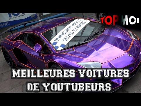 TOP 9 des VOITURES de youtubeurs