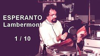 Esperanto Lambermont 1