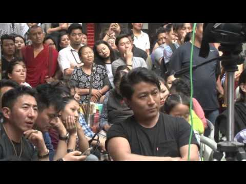 sikyong Lobsang Sangay 2016 talk at majnukatilla
