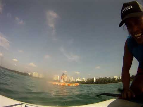 Bonding through Stand Up Paddle ( Singapore )