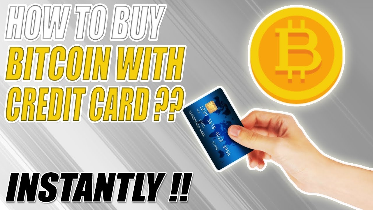How to BUY BITCOIN with CREDIT CARD ?? Best Method 2019 - YouTube