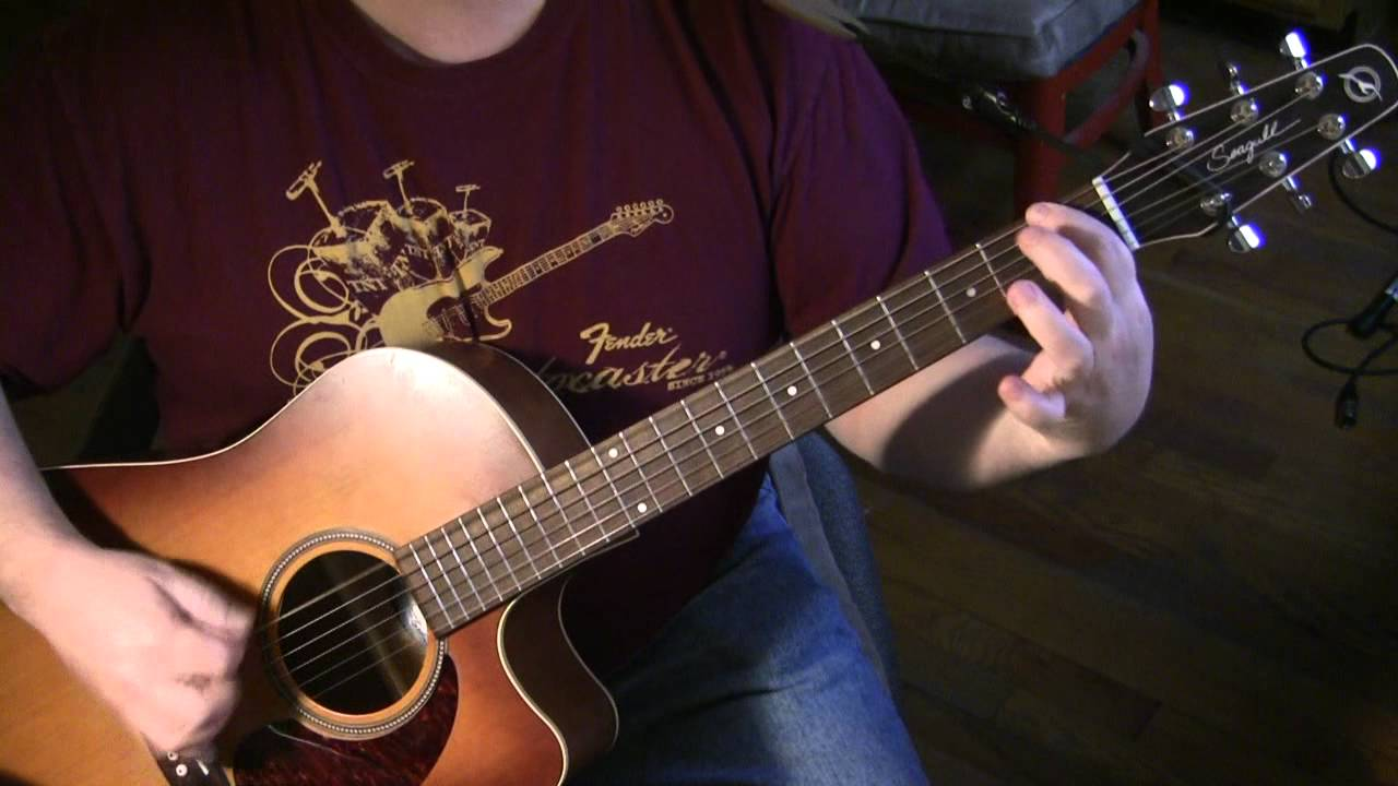 Shine On You Crazy Diamond Acoustic Guitar Lesson - YouTube