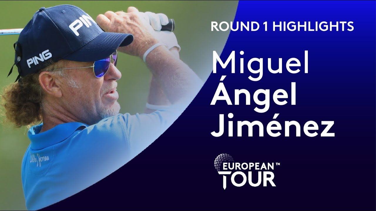 Miguel Ángel Jiménez equals all-time European Tour appearance record | 2020 Betfred British Masters
