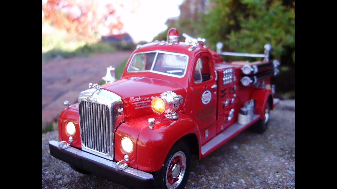 Custom First Gear 1960 Mack B Sohio Fire Truck W Working