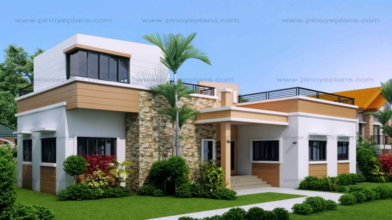 2 Storey House Design With Roof Deck Gif Maker Daddygif