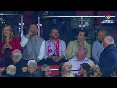Los actores de Juego de Tronos disfrutan del Sevilla FC vs FC Barcelona
