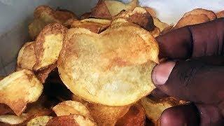 How to make Potato Chip : Uten Slicer Review