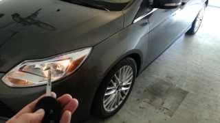 2012 Ford Focus SEL - Testing New Key Fob Battery - Parking Lights Flashing - Galaxy S3