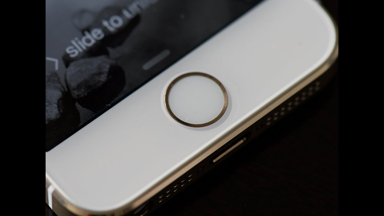 how to get touch id on iphone 5s