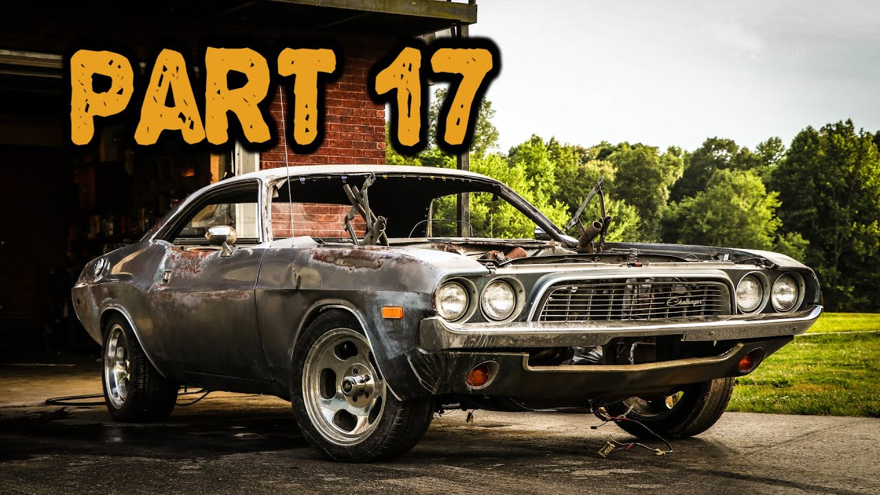 ABANDONED Dodge Challenger Rescued After 35 Years Part 17: Paint Restoration!
