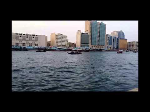 Bur Dubai Time lapse video - 2015