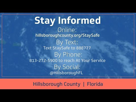 Hurricane Irma Update September 11, 2017 9 a.m.