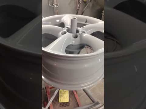 F.A.W. London Alloy Wheel Electric Powder Coating Curing Oven