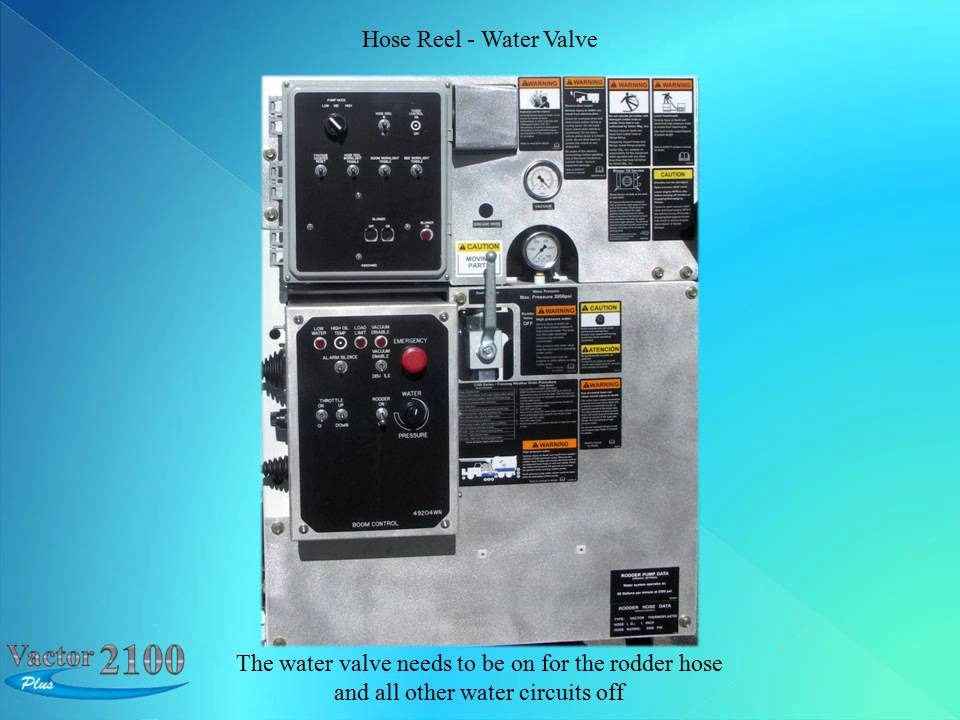 Vactor Plus Getting Started