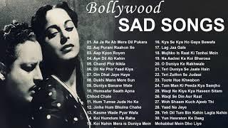 50's 60's Sad Songs   Best Evergreen Bollywood Songs   Old Hindi Songs   Sad Songs Playlist
