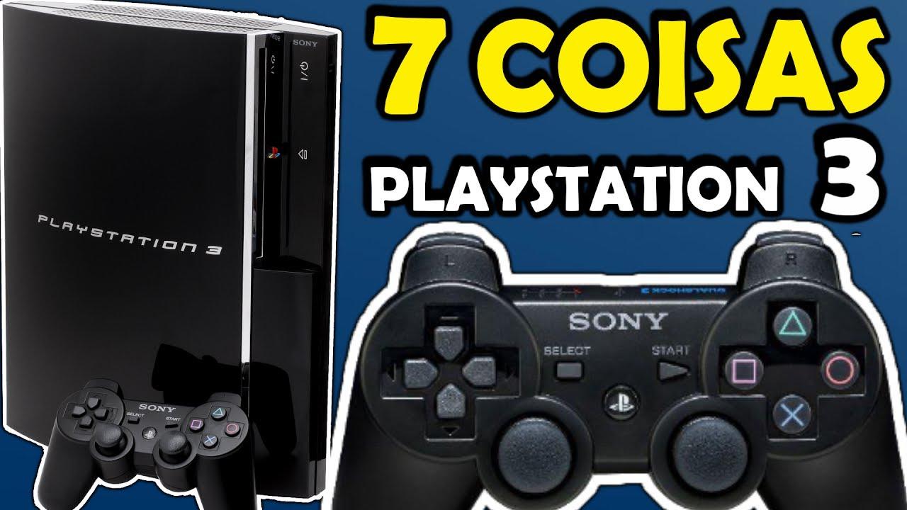 7 Coisas sobre o Playstation 3 PS3 - Curiosidades de consoles