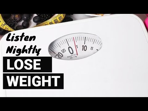 Weight Loss Sleep Hypnosis - Lose Weight, Eat Right, and Feel Great