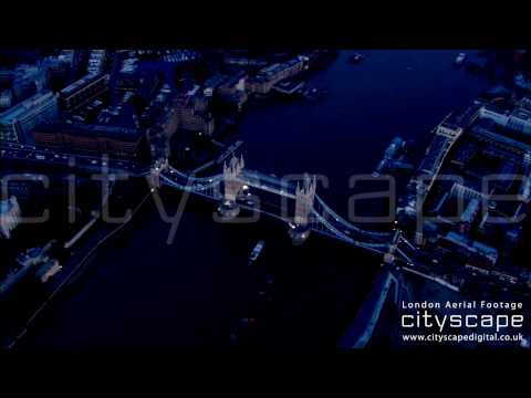 London Aerial Footage - Tower Bridge (HD)