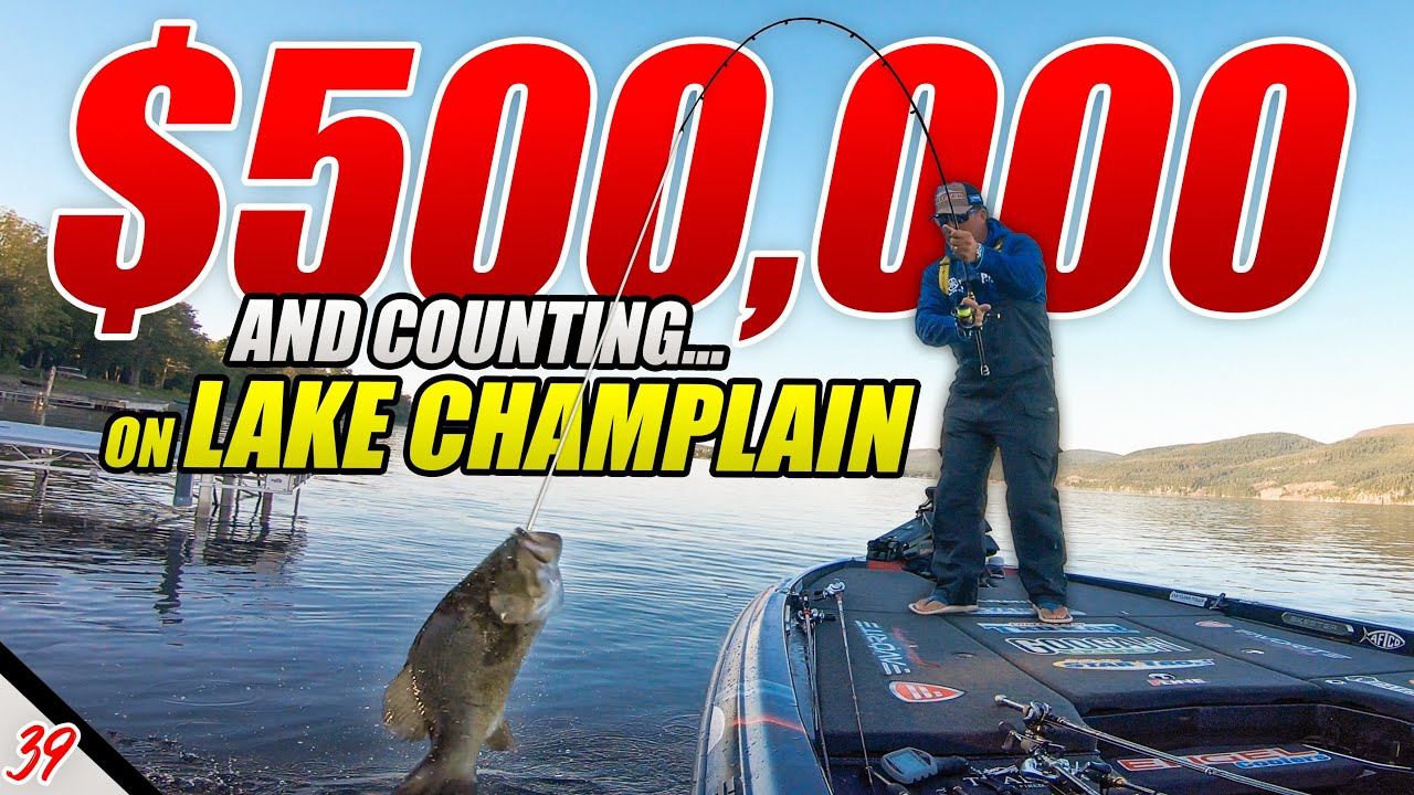 I've WON $500,000 on this Lake - Bassmaster Elite Lake Champlain PRACTICE - UFB Ep.39 (4K)