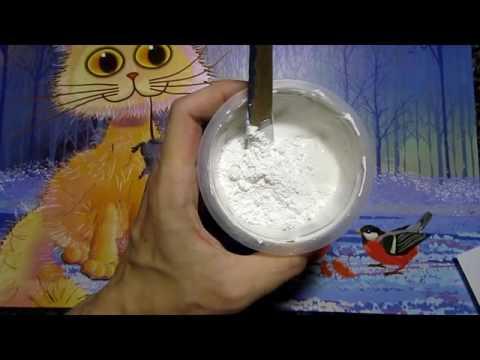 Клей для потолочных плит и плинтусов своими руками / My Handmade SuperGlue