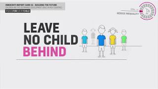 Innocenti Report Card 14-  Goal10: Reduce Inequality
