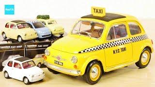 いろんなフィアット500 新作トミカプレミアム ブラゴ イエローキャブ タクシー / Tomica Bbrugo FIAT500