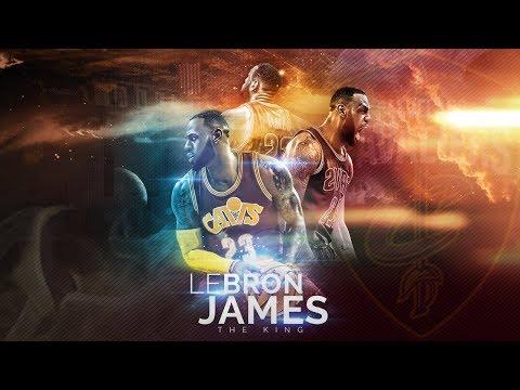 LeBron James | Diseño De Cartel Publicitario | Photoshop Tutorial