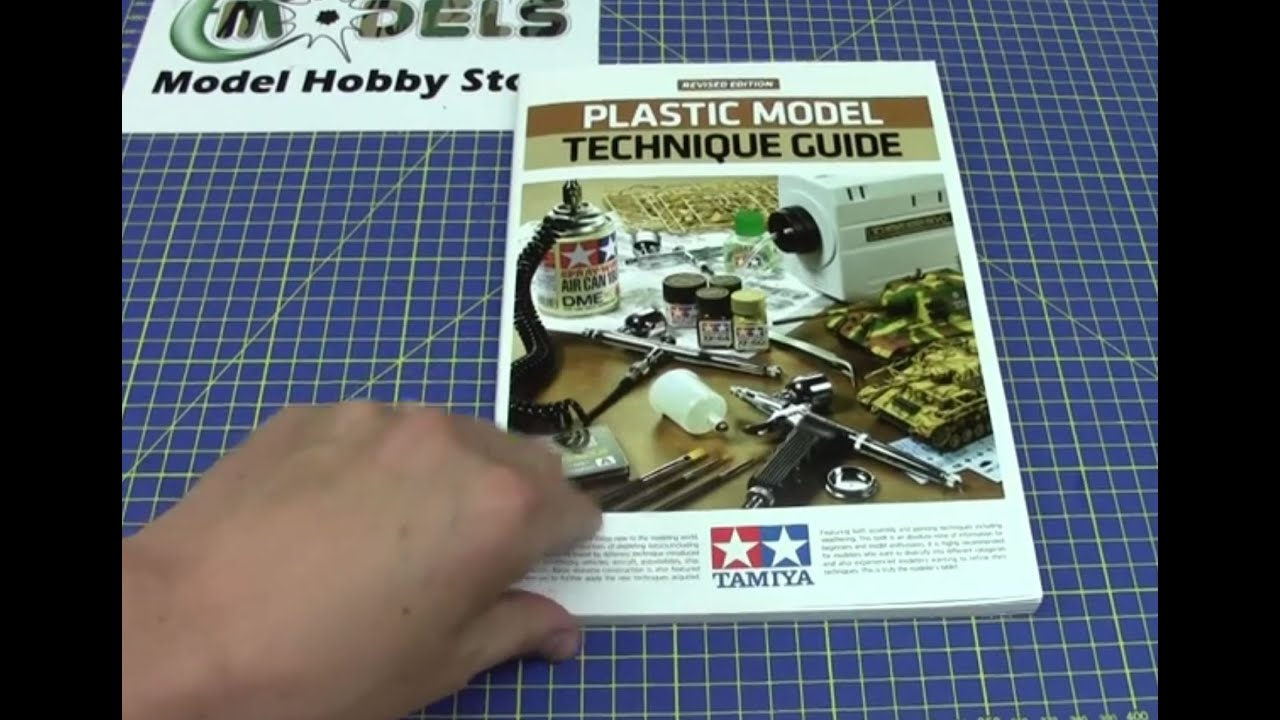Tamiya Plastic Model Technique Guide Revised Edition   64388   YouTube