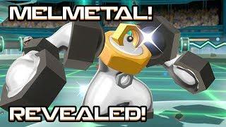 MELMETAL OFFICIALLY REVEALED! Meltan Evolution confirmed! Pokemon Let's Go Pikachu & Eevee!