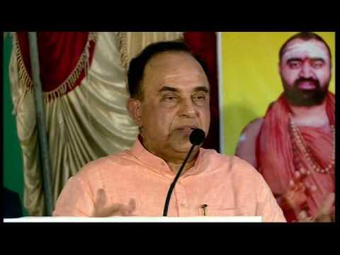 Dr Subramanian Swamy  Best Speech on Hindutva l Sankara Mutt, West Mambalam