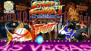 REAL FISH VS FISH IN STREET FIGHTER 2