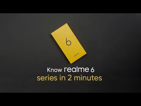 2 Minutes to know realme 6 series