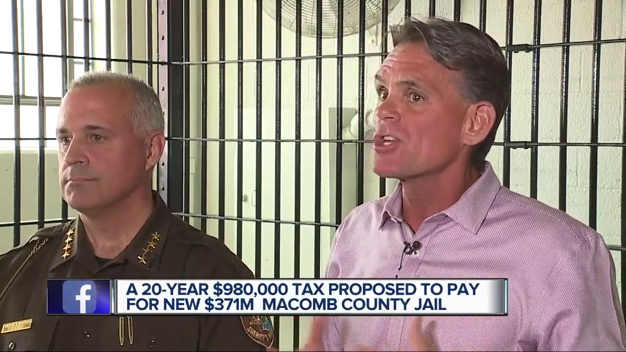 New jail proposal being discussed by Macomb County executive and sheriff